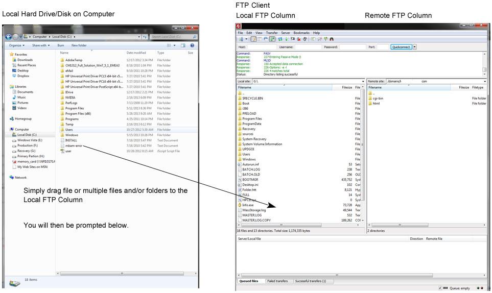 FTP-Local-Folder-Copy-Replace