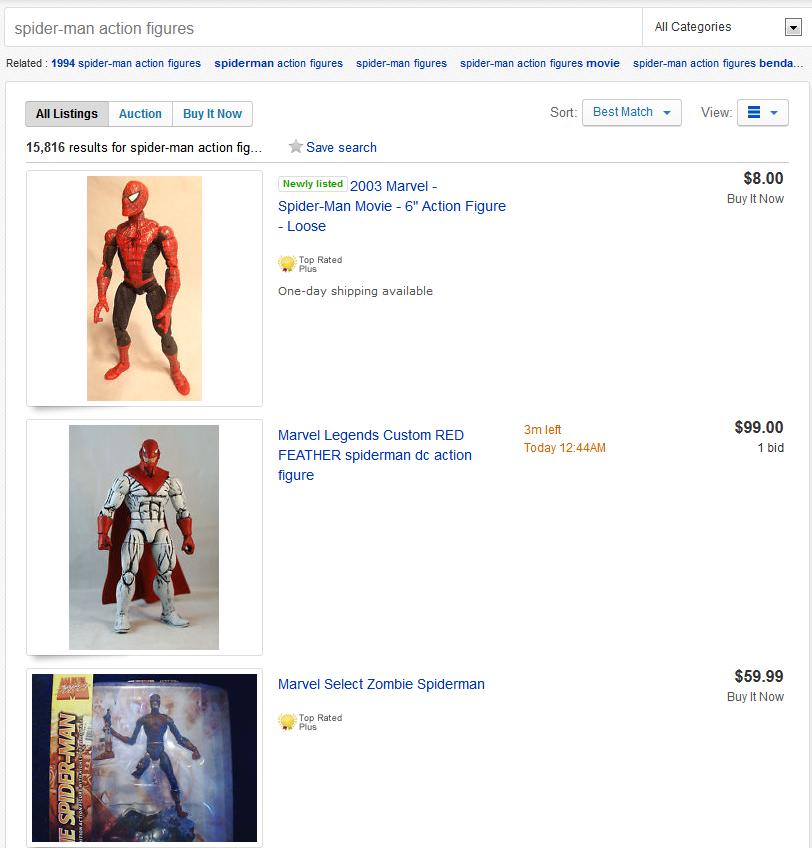 spider-man-action-figures
