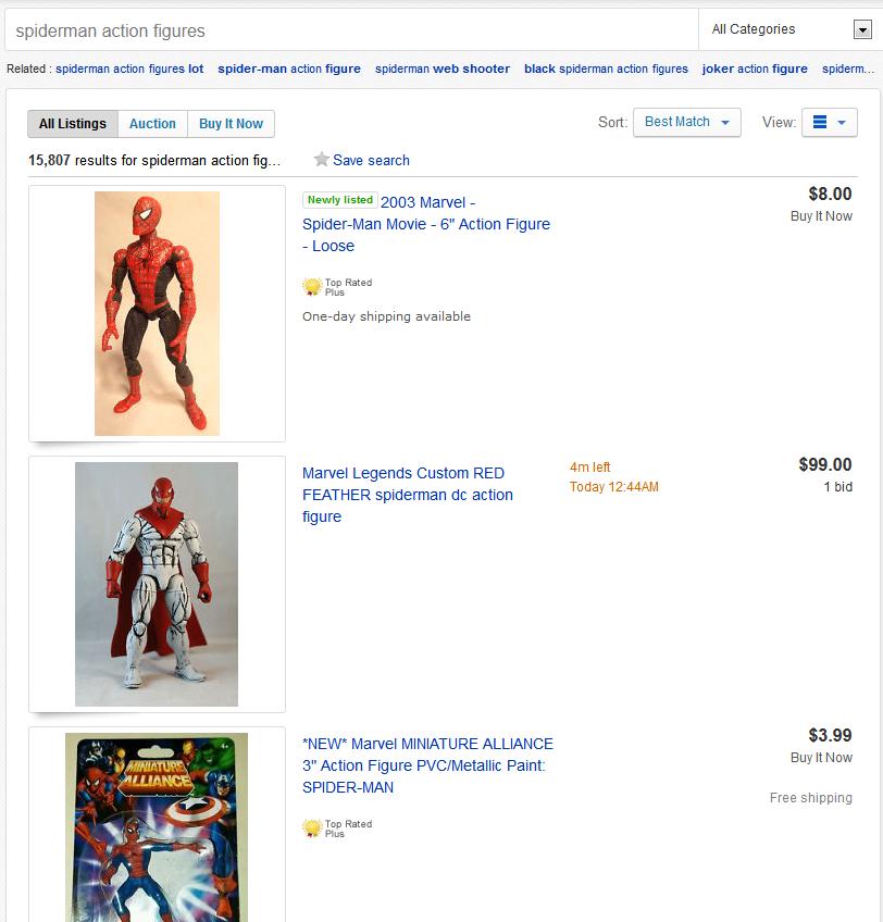 spiderman-action-figures