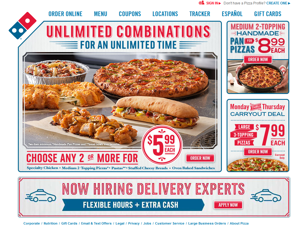 dominos-pizza-website